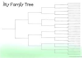 Family Tree Template Free Download Family Tree Diagram Template