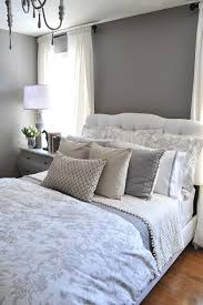 Master Bedroom Bedding Sets A Guest Bedroom Makeover In Grays Guest Rooms Love The And Grey