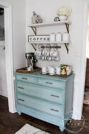 Can be used as a coffee bar or liquor bar. Gorgeous Home Coffee Station Ideas For Any Space A Blissful Nest