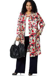 Butterick Plus Size Patterns Cool B48 Misses'Women's OpenFront Jacket Vest And WideLeg Pants