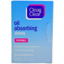 Clean & Clear, <b>Салфетки</b>, <b>впитывающие масло</b>, <b>дорожные</b>, 50 ...