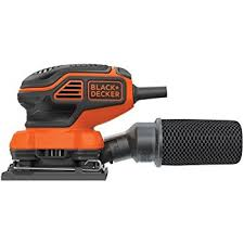 palm sander. black+decker bdeqs300 1/4-sheet orbital sander palm