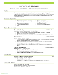 New Simple Free Resume Template Awesome Job Resume Templates