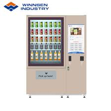 Get Rid Of Vending Machines Inspiration China Winnsen Salad Vending Machine With Adjustable Goods Channel