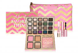 too faced new project holiday tri fold palette line