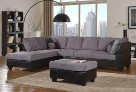 master furniture sectional sofa modern fabric microfiber faux leather sectional sofa 3pc 6 color com