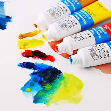 Us 10 38 20 Off Winsor Newton 12 18 24 Colors Professional Watercolor Paints High Quality Watercolor Painting Pigment For Artist Painting In Water