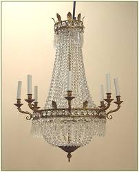 vintage french chandelier restoration hardware french empire crystal chandelier look for less vintage french tole chandelier