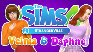 The Sims 4 StrangerVille: Velma & Daphne | Create-A-Sim - YouTube
