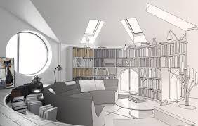 interior creative collection designs office. Creative Interior Design Circular Study Room House Collection Designs Office T