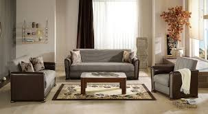 Istikbal Living Room Sets Brown Fabric Convertible Living Room Set Alfa Istikbal Furniture