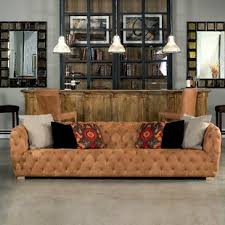 long leather couch.  Long Long Stanley Leather Chesterfield Sofa On Couch E