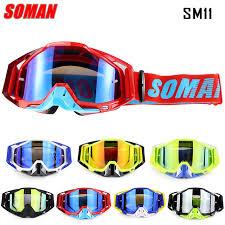 <b>New Arrival</b> 100% Original Soman <b>Brand</b> Motocross Glasses ATV ...