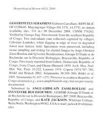 geotrypetes jpg zassi boulou a g boudzoumou s and k jackson 2010 range extension into the republic of congo for the caecilian geotrypetes seraphini