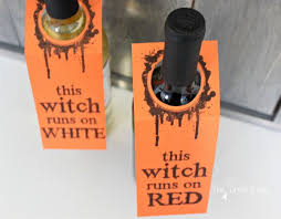 Free Printable Wine Labels Halloween Wine Labels The Crazy Craft Lady