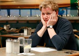 has gordon ramsay ever liked the food on kitchen nightmares
