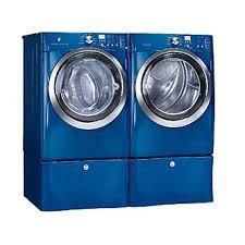 Front-load Washer w/ Steam - Mediterranean Blue
