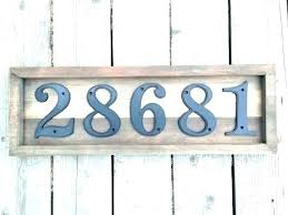 home address plaques. Custom House Number Plaques Address Home Depot For M