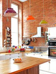 Full Size of Kitchen:dazzling Eclectic Kitchen Designs 1 Awesome Eclectic  Kitchen With Brick Wall ...