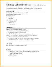 Another Word For Work Experience College Student Part Time Job Resume Template First Templates High
