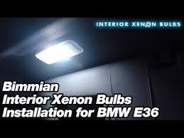 bimmian interior xenon bulbs installation for bmw e36