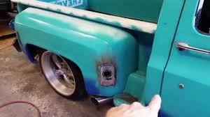 1974 chevy c10 short bed step side update on patina paint job 4b you