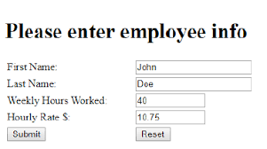 Texas Payroll Calculator Hourly Solved Paycheck Calculator Php In This Assignment You Nee