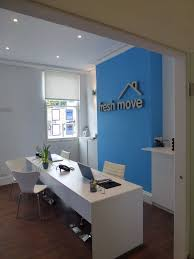 office feature wall. Feature Wall - Letting Agency Office Design By HOME RESTYLER L