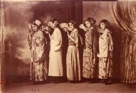 El Dorado Springs High School play cast members 1923 - El Dorado Springs  Community Photo Collection - Missouri State University Digital Collections