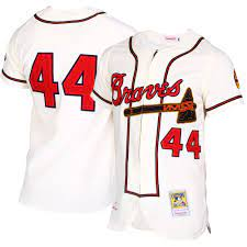 Hank Aaron Atlanta Braves Mitchell ...