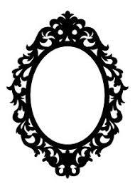 ornate mirror vector. cutting files ornate mirror vector r