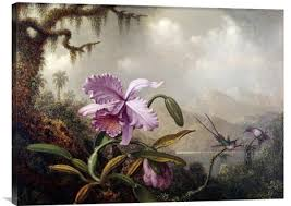 feng shui paintings for office. Hummingbirds And Orchids | Inspirational Wall Art, Good Luck Feng Shui Gifts For Your Office Paintings