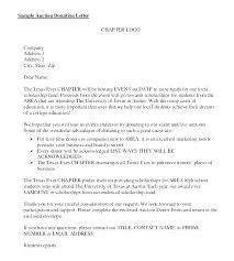 Sample Donation Letter Template Spicetools Co