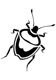 bug clipart black and white. pin creepy clipart bug #8 black and white i