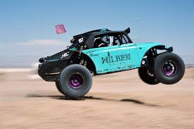 not breaking the law in a wheelie popping baja buggy with blake wilkey