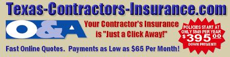 Liability Insurance Quote Impressive Texas Contractor Liability Insurance Quotes From TexasContractor