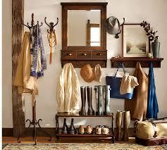 Coat Rack With Mirror Moran Coat Rack Pottery Barn 38