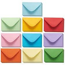 cheap envelopes in bulk. Delighful Cheap Juvale Mini Envelopes  100Count Bulk Gift Card Envelopes Assorted Color  Business On Cheap In E