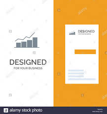 Growth Chart Design Growth Chart Flowchart Graph Increase Progress Grey