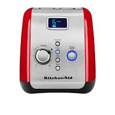 kitchenaid artisan 2 slice toaster empire red