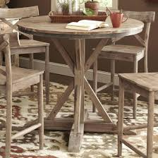 round wood pub table largo rustic casual round counter height pedestal table wood pub table plans round wood pub table
