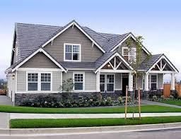 craftsman exterior house design plan w6912am country craftsman northwest corner lot