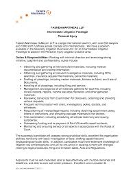 Personal Assistant Cv Objective Resume Sample Legal Secretary