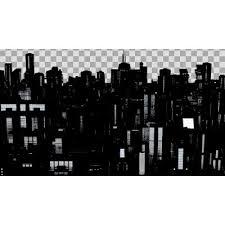 背景素材都市シルエット その2 ニコニコモンズ