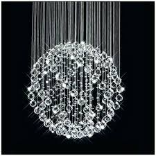 round ball chandelier glass good white for hanging chandeliers crystal floating ba round ball chandelier