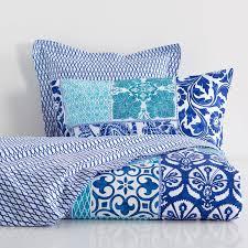 patchwork print bed linen bed linen