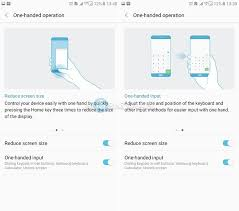 how to reduce screen size how to activate one handed operation on samsung galaxy c9 pro guide