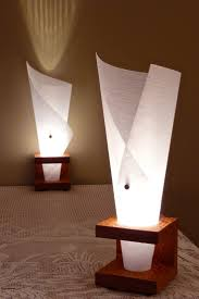 narcis x table lamp waterfall paper 175 00 via y table