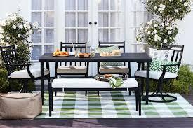 iron patio furniture. Fairmont 6-piece Patio Set Iron Furniture