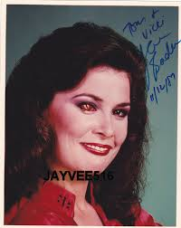 dels about jane badler v 1980s tv show series original signed dated autographed makeup